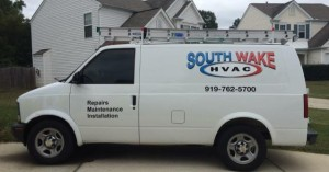 South-Wake-HVAC-Van-Lettering-300x157